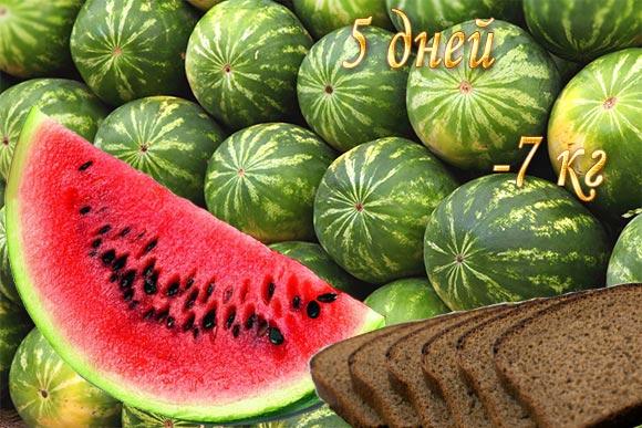 Арбузная диета: как похудеть на арбузах.