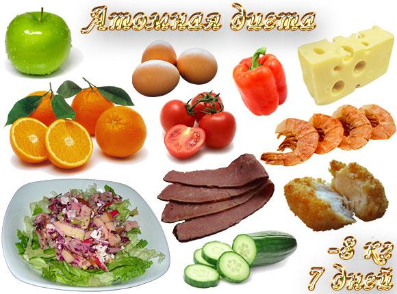 атомная диета