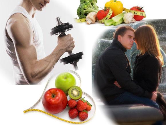 Диета для повышения активности мужчин