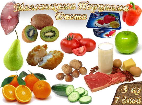диета маленькими порциями