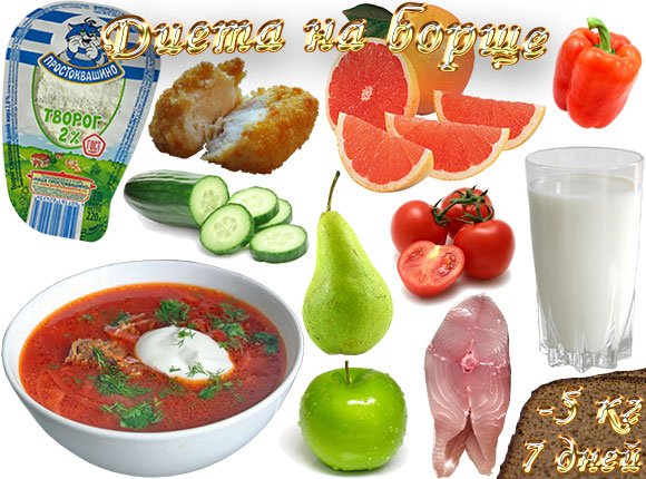 диета на борще