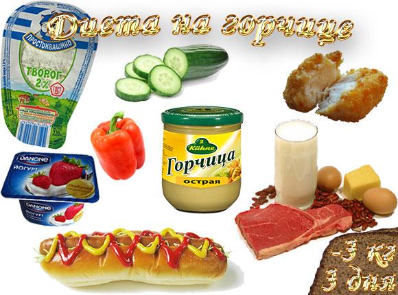 диета на горчице