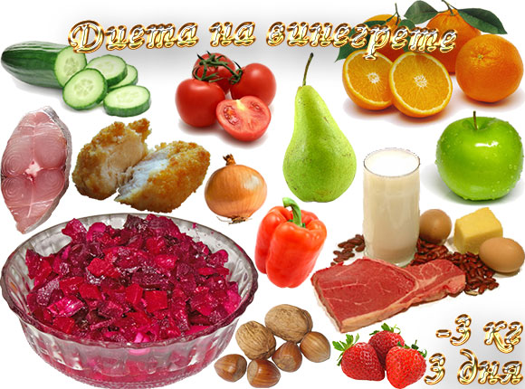 диета на винегрете