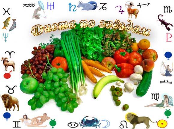 диета по звездам