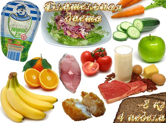 длительная диета