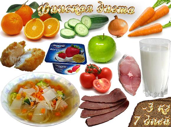 финская диета