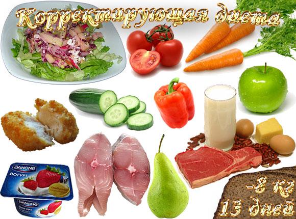 корректирующая диета