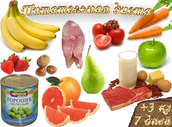 питательная диета